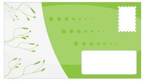 πράσινη κυρία φακέλων γυρ&omicr Στοκ εικόνες με δικαίωμα ελεύθερης χρήσης