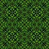Πράσινη μαύρη αφηρημένη σύσταση Λεπτομερής caleidoscope απεικόνιση υποβάθρου επίδρασης Υφαντικό σχέδιο τυπωμένων υλών Γεωμετρικό  Στοκ φωτογραφία με δικαίωμα ελεύθερης χρήσης
