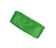Πράσινη μολύβι-περίπτωση στο άσπρο υπόβαθρο στοκ εικόνα με δικαίωμα ελεύθερης χρήσης