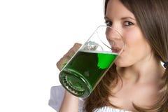 Πράσινη μπύρα Στοκ Εικόνες