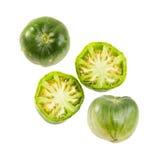 Πράσινη ντομάτα καρδιών βοδιών Στοκ Εικόνα