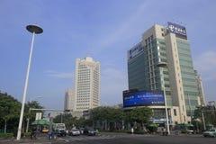 Πράσινη οικοδόμηση των τηλεπικοινωνιών της Κίνας Στοκ φωτογραφία με δικαίωμα ελεύθερης χρήσης