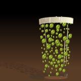 πράσινη πίντα Στοκ εικόνες με δικαίωμα ελεύθερης χρήσης
