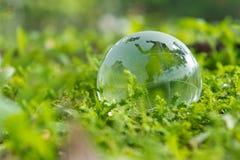 Πράσινη παγκόσμια έννοια Στοκ Φωτογραφίες