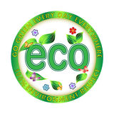 Πράσινη περιβαλλοντική απεικόνιση Eco ελεύθερη απεικόνιση δικαιώματος