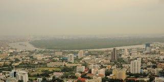 Πράσινη περιοχή της Μπανγκόκ Στοκ Φωτογραφίες
