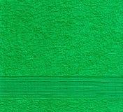 πράσινη πετσέτα σύστασης στοκ φωτογραφίες με δικαίωμα ελεύθερης χρήσης