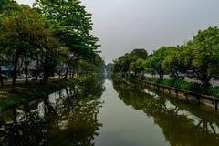Πράσινη πόλη της Mai Chiang Στοκ φωτογραφία με δικαίωμα ελεύθερης χρήσης