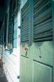 Πράσινη πόρτα #1 Στοκ φωτογραφία με δικαίωμα ελεύθερης χρήσης