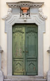 Πράσινη πύλη εκκλησιών σε Aquileia Στοκ φωτογραφία με δικαίωμα ελεύθερης χρήσης