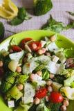 πράσινη σαλάτα στοκ εικόνες