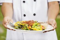Πράσινη σαλάτα για την υγεία Στοκ Εικόνες