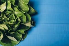 πράσινη σαλάτα μαρουλιού Στοκ εικόνες με δικαίωμα ελεύθερης χρήσης