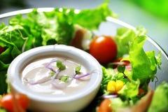 Πράσινη σαλάτα στοκ εικόνα με δικαίωμα ελεύθερης χρήσης