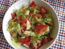 1 πράσινη σαλάτα Στοκ εικόνα με δικαίωμα ελεύθερης χρήσης