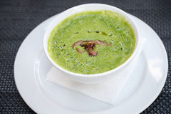 Πράσινη σούπα Στοκ φωτογραφίες με δικαίωμα ελεύθερης χρήσης
