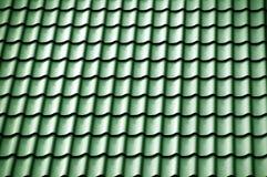 πράσινη στέγη Στοκ Φωτογραφία