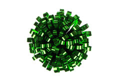 πράσινη συσκευασία τόξων Στοκ φωτογραφία με δικαίωμα ελεύθερης χρήσης