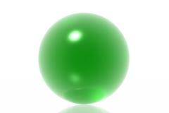 πράσινη σφαίρα Στοκ φωτογραφία με δικαίωμα ελεύθερης χρήσης