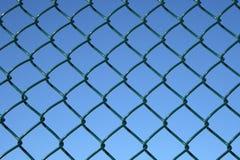 πράσινη σύνδεση φραγών αλυ&s Στοκ φωτογραφία με δικαίωμα ελεύθερης χρήσης