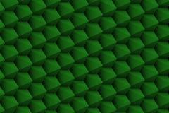 Πράσινη σύνθεση με τα αιχμηρά sharpes Στοκ Φωτογραφία