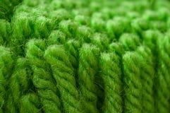 πράσινη σύσταση καλωδίων μαλλιού Στοκ φωτογραφίες με δικαίωμα ελεύθερης χρήσης
