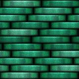 Πράσινη σύσταση νομισμάτων με το Μαύρο στοκ εικόνες με δικαίωμα ελεύθερης χρήσης