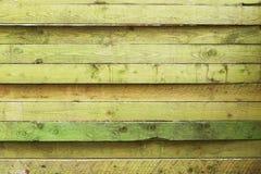 Πράσινη σύσταση σανίδων Στοκ Εικόνα