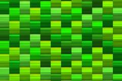 Πράσινη σύσταση των φωτεινών τετραγώνων Στοκ εικόνες με δικαίωμα ελεύθερης χρήσης