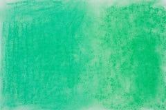 Πράσινη σύσταση υποβάθρου κραγιονιών κρητιδογραφιών Στοκ εικόνες με δικαίωμα ελεύθερης χρήσης