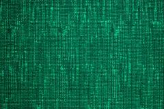 πράσινη σύσταση υφάσματος Στοκ Εικόνες