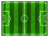 πράσινη σύσταση χλόης ποδοσφαίρου πεδίων ανασκόπησης Ελεύθερη απεικόνιση δικαιώματος
