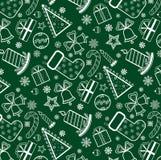 πράσινη ταπετσαρία Χριστο&u Διανυσματική απεικόνιση