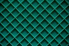 Πράσινη τετραγωνική μορφή χαλιών πιάτων Στοκ Φωτογραφία