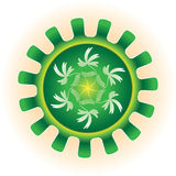 πράσινη τεχνολογία Στοκ Εικόνα