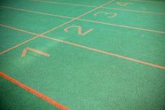 Πράσινη τρέχοντας διαδρομή Στοκ εικόνες με δικαίωμα ελεύθερης χρήσης