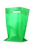 Πράσινη τσάντα αγορών Στοκ Φωτογραφία