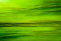πράσινη φύση θαμπάδων Στοκ Εικόνα