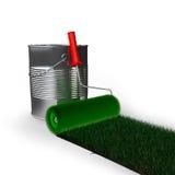 Πράσινη χλόη Στοκ εικόνα με δικαίωμα ελεύθερης χρήσης