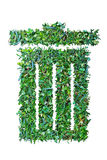 Πράσινη χλόη trashcan Στοκ εικόνες με δικαίωμα ελεύθερης χρήσης