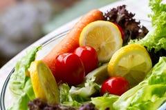 Σαλάτα φρέσκια και υγιής Στοκ εικόνες με δικαίωμα ελεύθερης χρήσης