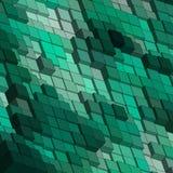 Πράσινοι κύβοι αφηρημένη διανυσματική εικόνα υποβάθρου - Vektorgrafik 10 eps διανυσματική απεικόνιση