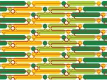πράσινοι λοβοί σημείων κίτρινοι Στοκ Εικόνες