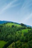 πράσινοι λόφοι στοκ φωτογραφίες