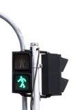 Πράσινοι φωτεινοί σηματοδότες Στοκ Εικόνες