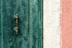 Πράσινος, άσπρος, ροζ Στοκ Φωτογραφίες