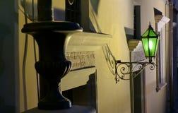 Πράσινος ένας latern στοκ φωτογραφίες με δικαίωμα ελεύθερης χρήσης