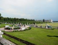 πράσινος ήλιος πάρκων φύλλων ημέρας ηλιόλουστος Στοκ Φωτογραφία