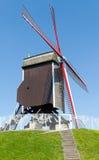 πράσινος αέρας μύλων χορτοταπήτων του Μπρυζ Στοκ Εικόνες