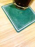 Πράσινος ακτοφύλακας ποτών χρώματος πιάτων Στοκ Εικόνες
